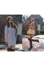bc283d10aed ... Dark-brown-overknee-zara-boots-heather-gray-dress-