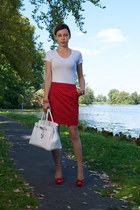 reserved top - Top Shop skirt - venezia heels