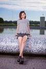 Black-romwecom-shorts-romwe-blouse