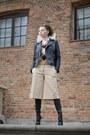 Black-casadei-boots-black-leather-zara-jacket-white-zara-shirt