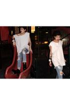 Stylenanda jeans - UNIF boots - Alexander Wang bag - Stylenanda top