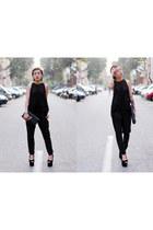 Jeffrey Campbell shoes - Yves Saint Laurent bag - Zara top