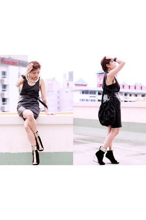 Alexander Wang bag - Jeffrey Campbell shoes - Stylenanda skirt - Topman top