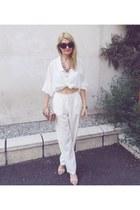 moa bag - meli melo sunglasses - Atmosphere blouse