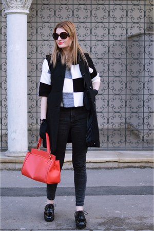 Mango shoes - Chanel gloves