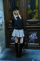 H&M hat - New Yorker bag - River Island skirt