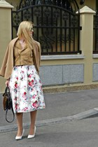 Vero Moda skirt - pull&bear bag
