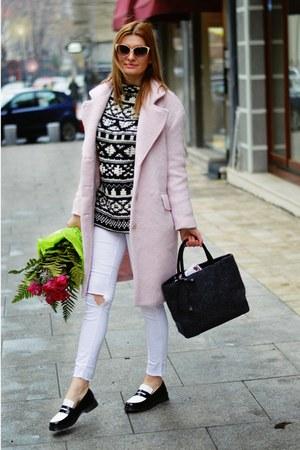 Zara sweater - Zara loafers