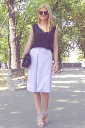 c&a skirt - meli melo sunglasses