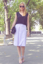 The one with the midi skirt