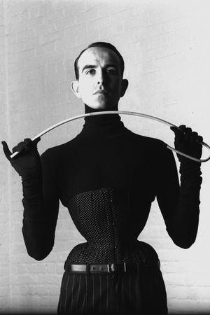 black corset accessories
