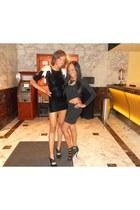 black dress - LAMB heels
