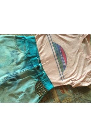 light pink shirt
