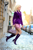purple olivier strelli shoes - amethyst Neuville bag