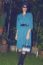 Vintage-pleates-vintage-dress