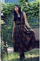 grunge maxi morningthrift dress
