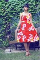 floral dress morningthrift dress