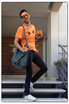 Pierre Balmain jeans - balenciaga bag - Oakley sunglasses - Converse sneakers