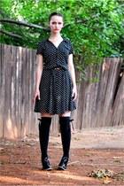 H & M dress - Plum heels