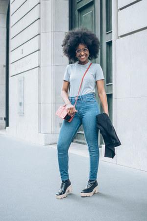 hm jeans - COS t-shirt