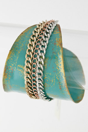 turquoise blue My Alexas Store bracelet