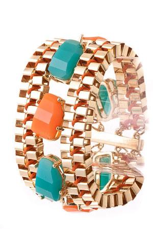 orange My Alexas Store bracelet