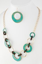 turquoise blue My Alexas Store necklace