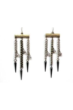 silver My Alexas Store earrings
