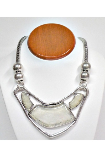 silver My Alexas Store necklace