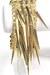 gold goldtone spikes My Alexas Store bracelet