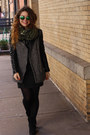 Black-suede-nasty-gal-boots-black-tweed-leather-h-m-coat