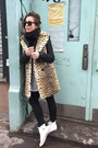 White-converse-shoes-black-faux-leather-rachel-roy-jacket