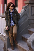 black Free To Be jacket - dark brown Lulus  Envy boots