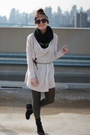 Black-old-navy-boots-beige-sweater-dress-h-m-sweater