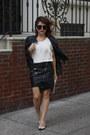 Bubble-gum-thrifted-bag-tan-lulus-heels-black-h-m-skirt-ivory-silk-blouse