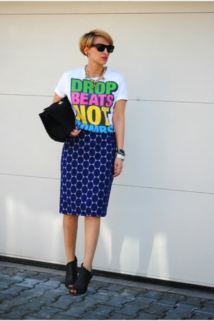 Marni x H&M skirt - Zara bag