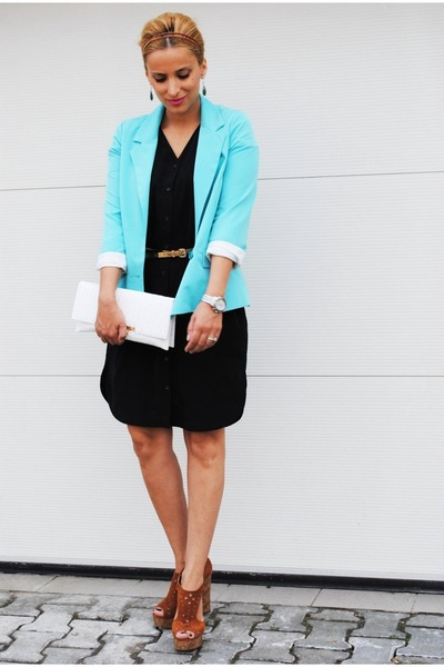 H&M dress - BLANCO blazer - H&M sandals