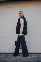 Zara jeans - Gap vest