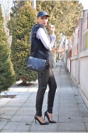 Mango pants - H&M vest