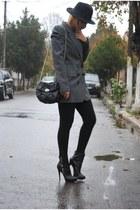 asos boots - pull&bear blazer