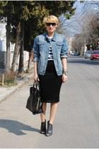 Topman jacket - River Island skirt