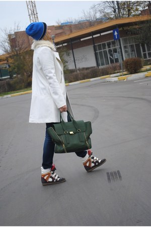 Phillip Lim bag - H&M coat