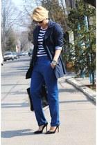 Topshop pants - Zara coat