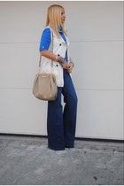 Bershka shirt - Zara jeans - Miu Miu bag