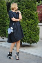 COS dress - Phillip Lim bag - karl heels