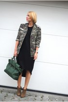 Phillip Lim bag - Zara boots - COS dress