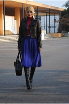 H&M skirt - Christian Louboutin boots