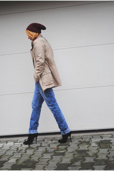 Giuseppe Zanotti boots - Mango jacket