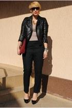 Zara jacket - COS pants - Christian Louboutin heels