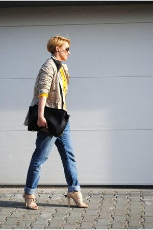 Topshop jeans - Mango jacket - Alexander Wang heels